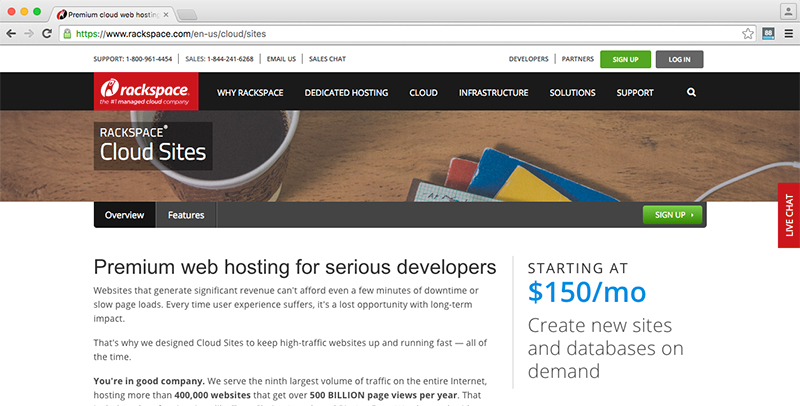Wordpress Slow Cloud Sites Hosting Rackspace